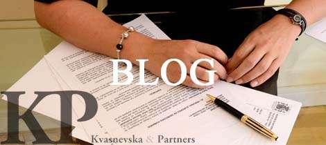 Blog Kvasnevska & Partners